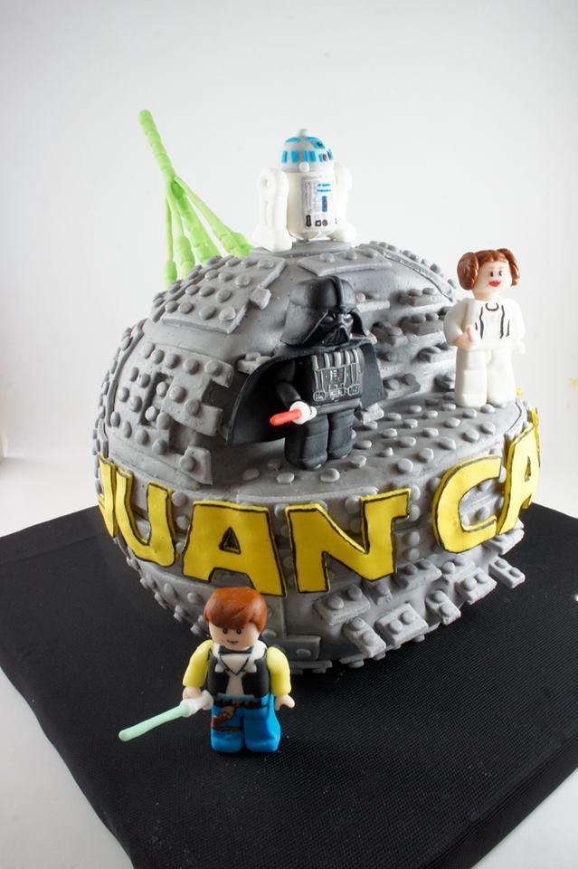Preferenza Torta StarWars Lego La estrella de la muerte | Celebrate Custom Cakes OB18